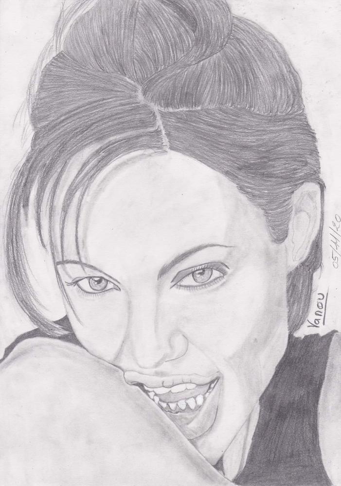 Angelina Jolie par vanouh71